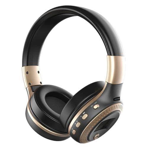 Casque Audio Bluetooth Sans Fil Zealot B19 Pliable Avec Fente Carte Micro Tf